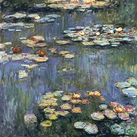 Monet, Claude : Seerosen.