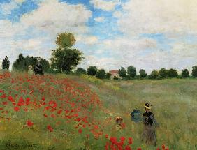 Monet, Claude : Klatschmohn in der Gegend ...
