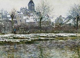 The Church at Vetheuil under Snow 1878-79