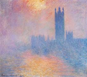 Monet, Claude : The Houses of Parliament, ...