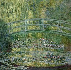 The Waterlily Pond with the Japanese Bridge 1899