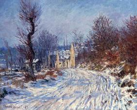 The Road to Giverny, Winter 1885
