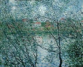 The Banks of the Seine or, Spring through the Trees 1878