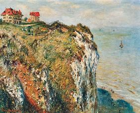 Cliff at Dieppe 1882