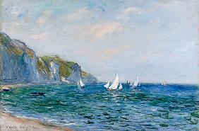 Monet, Claude : Cliffs And Sailboats At Po...