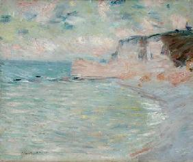 Cliffs and the Porte d'Amont, Morning Effect 1885