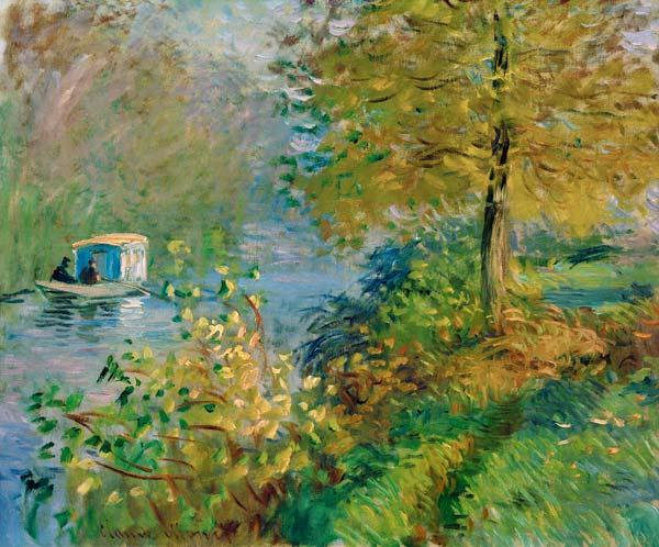 Monet, Claude : Das Atelierboot des K�nstl...