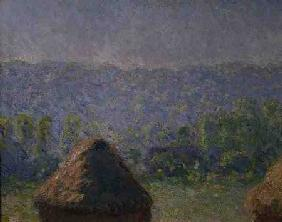 The Haystacks or, The End of the Summer, at Giverny 1891