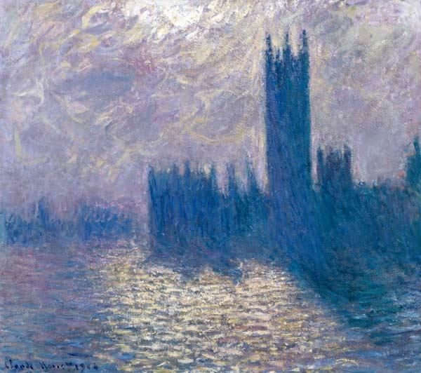 The Houses of Parliament, Stormy Sky 1904