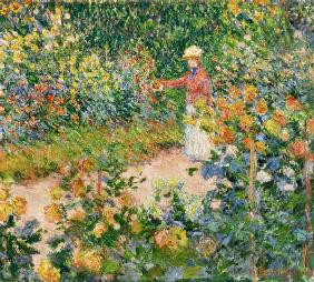 Monet, Claude : Garden at Giverny