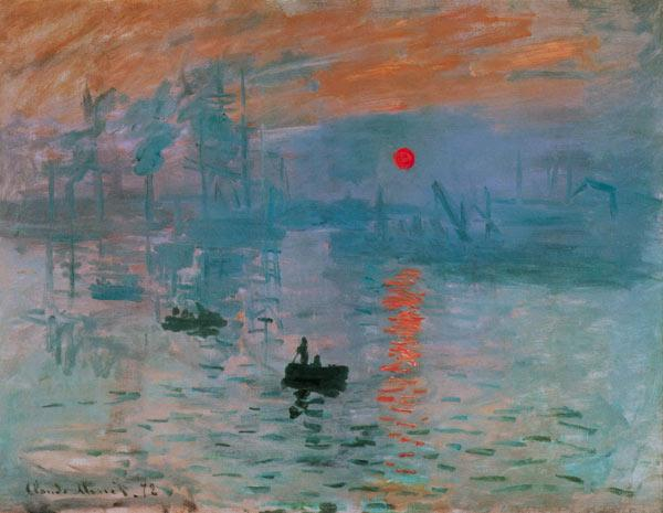 Monet, Claude : Impression, aufgehende Son...