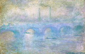 London, Waterloo-Brücke im Nebel 1903