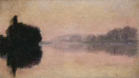 The Seine at Port-Villez, Evening Effect 1894