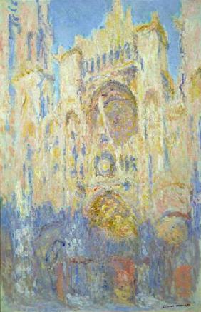 Rouen Cathedral, Effects of Sunlight, Sunset 1892