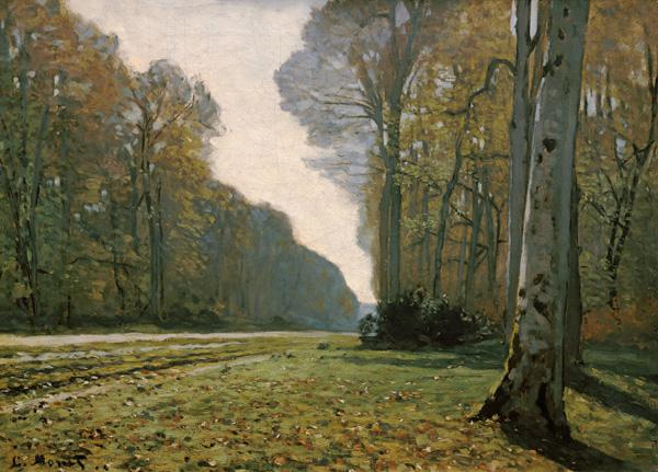 Monet, Claude : Pave de Chailly, Forest de...