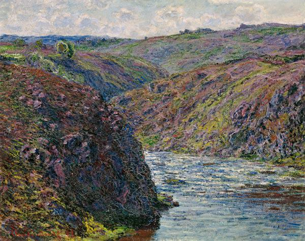 Ravines of the Creuse at the End of the Day 1889
