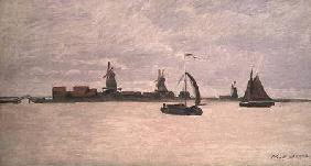 The Outer Harbour at Zaandam 1871