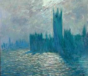 Parliament, Reflections on the Thames 1905