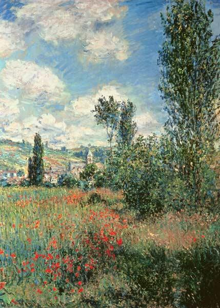 Monet, Claude : Path through the Poppies