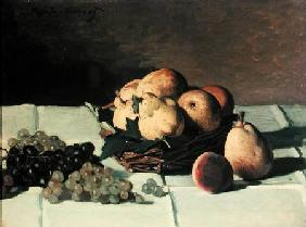 Pears and Grapes 1867