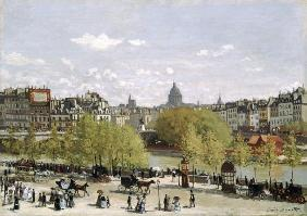 Monet, Claude : Quai du Louvre, Paris