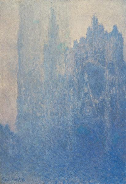 Rouen Cathedral, Foggy Weather 1894