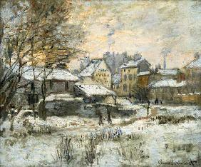 Snow Effect with Setting Sun 1875
