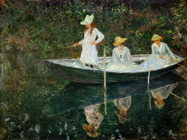 The Boat at Giverny c.1887