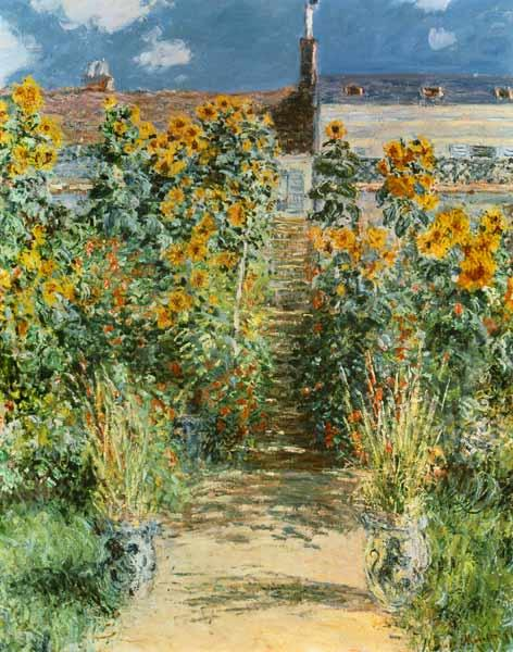 The Garden at Vetheuil 1881