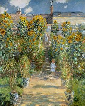 Monet, Claude : The Artist's Garden at Vet...