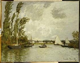 The Little Branch of the Seine at Argenteuil