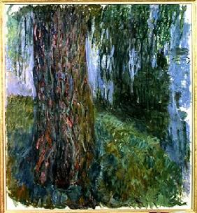 Weeping Willow and the Waterlily Pond 1916-19