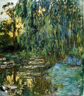 Weeping Willows, The Waterlily Pond at Giverny c.1918