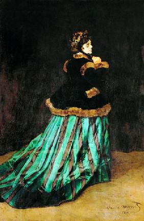 Camille, or The Woman in the Green Dress 1866