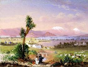A View of Mexico City 1878