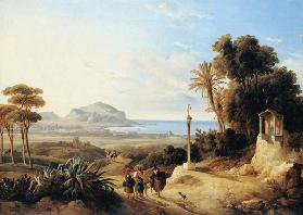 View of Palermo 1840