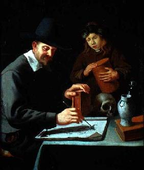 The Painter and his Pupil
