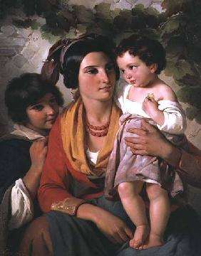 Mother and Children 1845