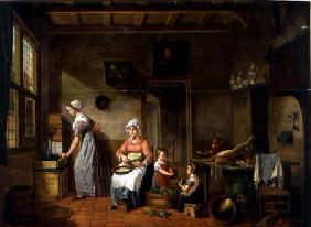 Kitchen Interior 1820