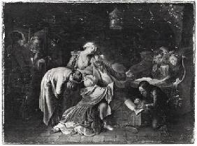 Jean Calas (1698-1762) Bidding Farewell to his Family