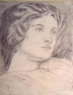 Portrait Head of Fanny Cornforth c.1862-5