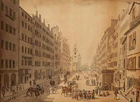 View of the High Street of Edinburgh from the East 1793
