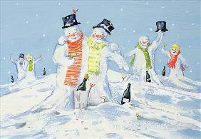 The Snowmen''s Party