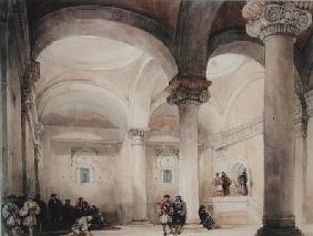 Interior of a Mosque c.1835  on