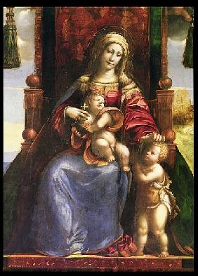 Virgin and Child with the infant St. John
