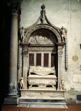 Tomb of Carlo Marsuppini (d.1453)