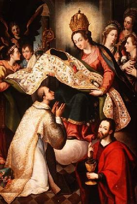 Presentation of the Cope to St. Ildefonsus 1600-24