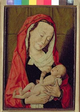 Madonna and Child (panel) 19th