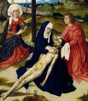 The Lamentation (detail of 93895)