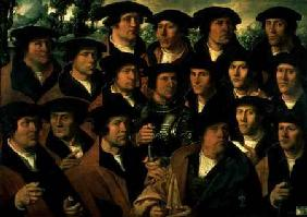 Group Portrait of the Shooting Company of Amsterdam 1532